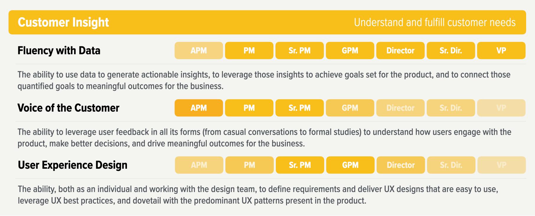 Customer Insight and Analytics Skills