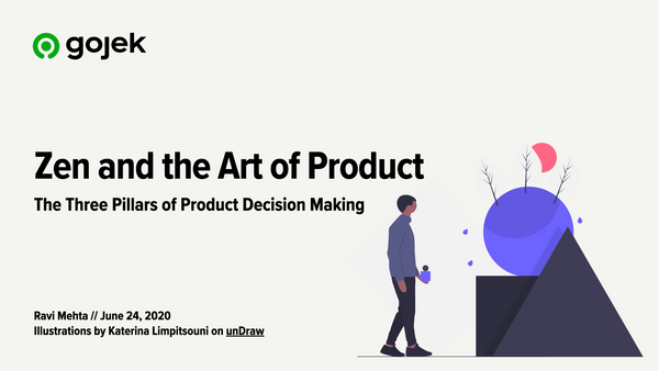 The Three Pillars of Product Decision Making